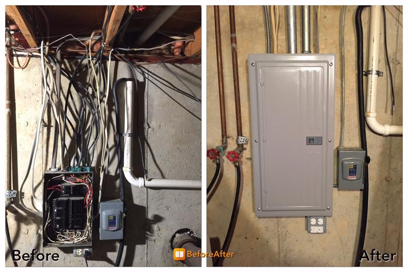 Service Panel Upgrade Project in Mandalay CT., Naperville, IL ...